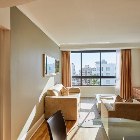 2 Bed apartment sea facing double - landscpae (6th)