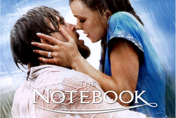 The Notebook at the Presdient Hotel for Valentine's Day