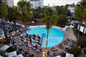 Movies at the President Hotel Baywater Capetown