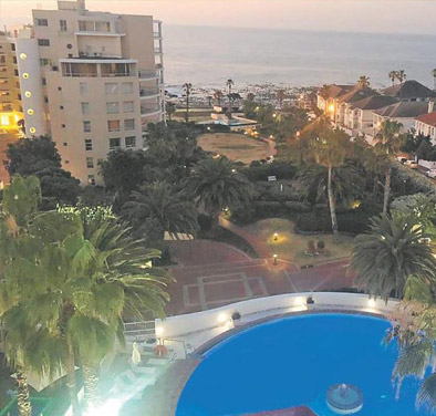 Bantry Bay Hotel Ocean & Pool Views from the President Hotel