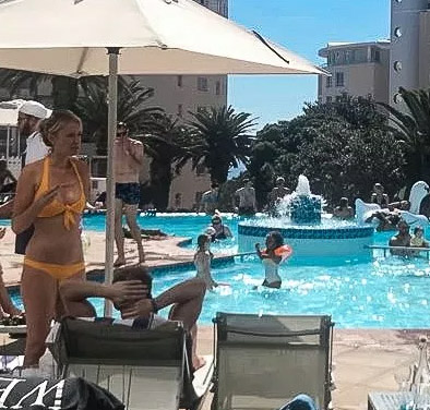 Pool President Hotel Bantry Bay Cape Town