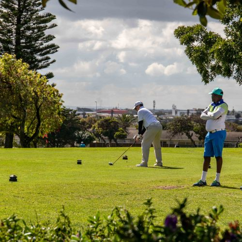 Golf Event in Kaapstad
