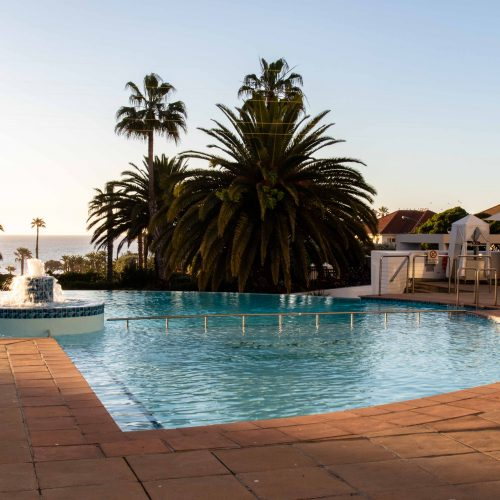 Outdoor Pool with Ocean View Cape Town