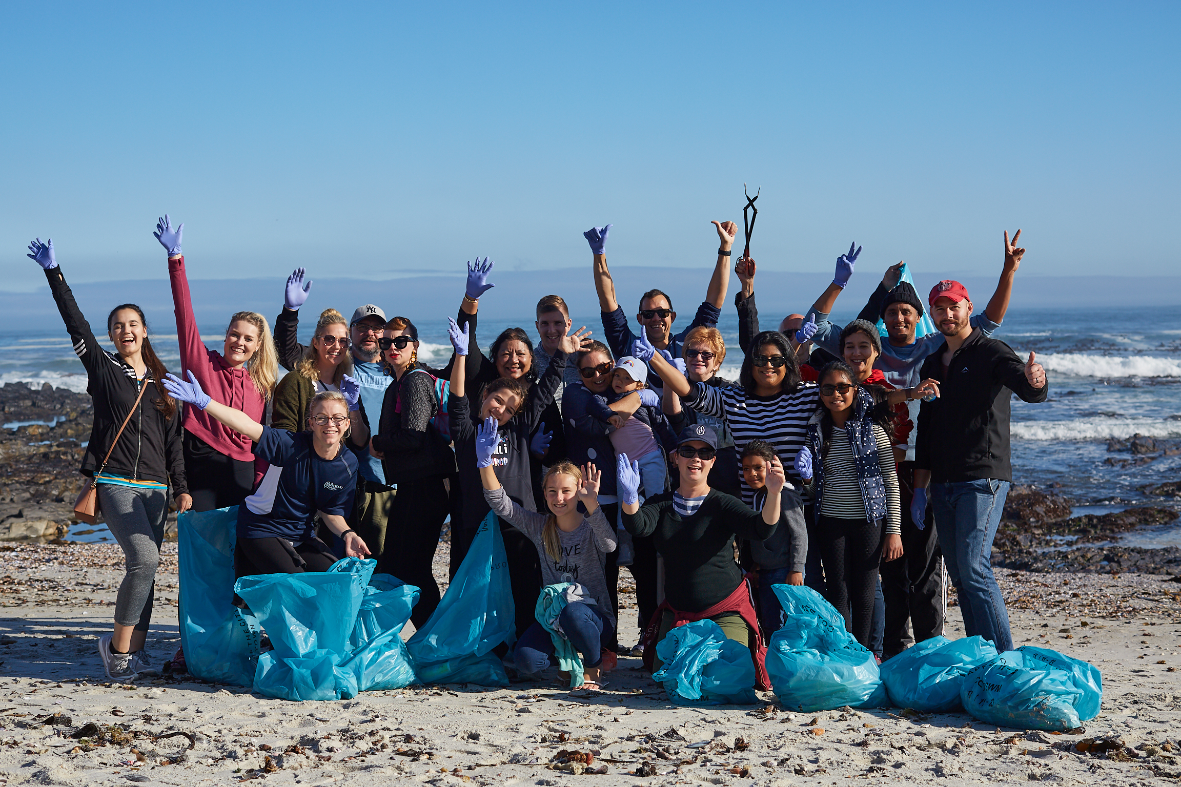 Coastal Cleanup Day at The President